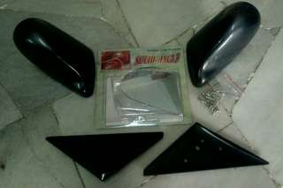 Honda  ek eg  b series carbon look new  design side mirror