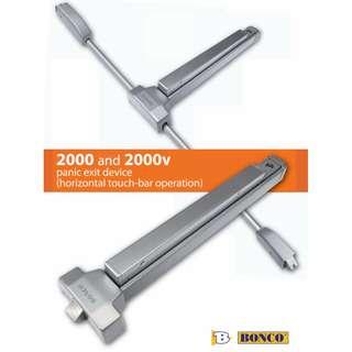 Bonco 2000/2000v Panic Exit Device / Bar