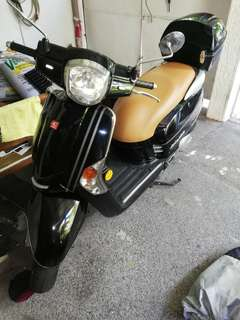 Kymco Like 125 2013 Retro Bike
