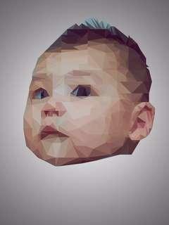 Customized Polygon Art