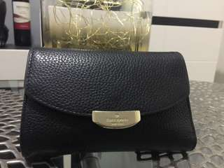 Authentic Kate Spade Black Trifold Wallet