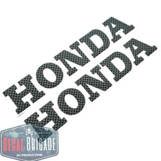 Honda CarbonFiber Decal