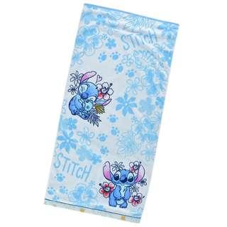 日本 Disney Store 直送 Stitch & Scrump 史迪仔甘仔大毛巾 / 沙灘毛巾