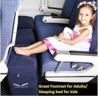 [7 FREE Gifts] Travel bed/footrest for long haul flights