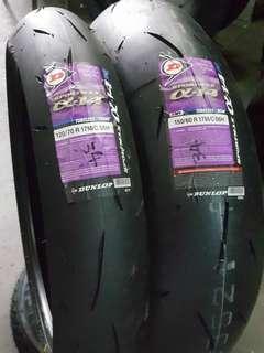 "17"" Dunlop Sportmax Tyre"