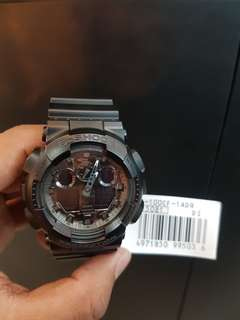 G-Shock GA-100CF-1ADR Promo Dp 0% Bunga 0% Cukup admin 199.000