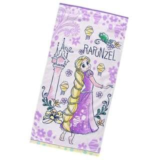 日本 Disney Store 直送 Rapunzel 長髮公主大毛巾 / 沙灘毛巾