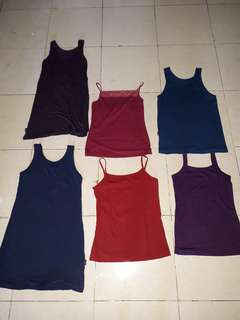 Tank tops collection