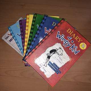 Diary of a Whimpy Kid Series(1-6 + Movie Diary)