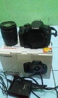 Canera dslr Canon 700D fullset no minus