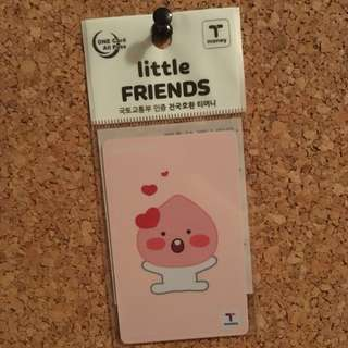 KAKAO FRIENDS LITTLE APEACH T-MONEY