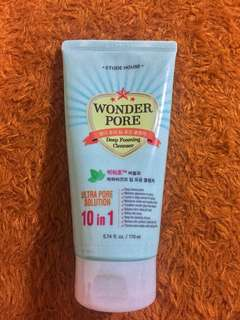 [Lowered Price] Etude House Wonder Pore Cleansing Foam 170ml