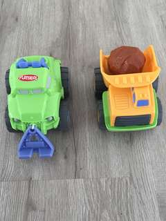 Playskool Rumble Trucks