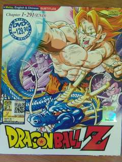 Dragon Ball Z DVD's
