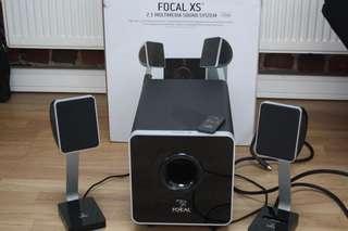 Foca XS 2.1 Speakers