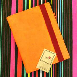Leather Ringed Notebook :Studio Signature