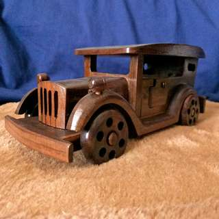 Classic Car Wooden Toy