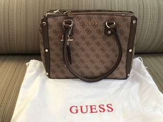 Guess Brown Florence Bag