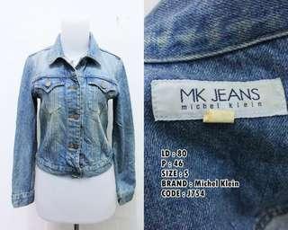 Jaket jeans harga pas