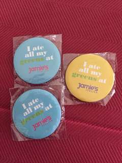 Jamie Oliver Badges