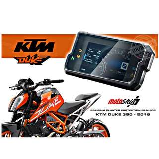 MotoSkin Speedometer Protection for KTM Duke 390 / 125 2018