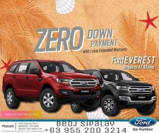 2018 Ford Everest Trend