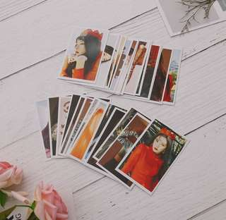 RED VELVET 30 PCS POSTCARDS
