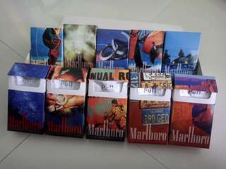 Marlboro  Limited Edition Collectible Packets