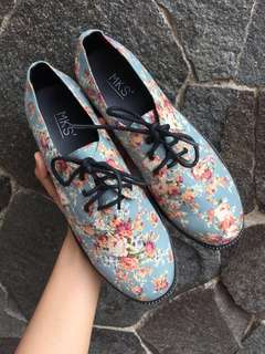 Mks blue rose boots
