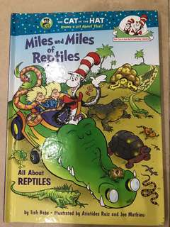 Dr suess Miles and miles of reptiles