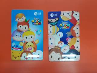 2 Cards @ Tsum Tsum Ezlink Cards