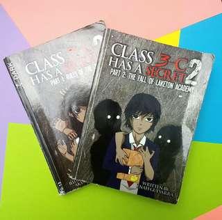 Class 3C Has A Secret Book 2: Part 1 and 2