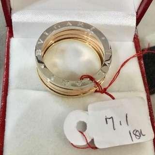 New BVLGARI inspired Pawnable Ring