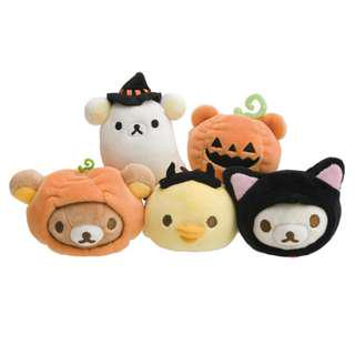 🚚 Rilakkuma: San-X Official Halloween Limited Edition Super Mochimochi Plushes Set