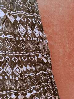 Larne Aztec Print Dress