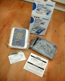Omron Automatic Blood Pressure Set with Charger