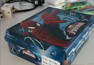 🚚 (Temp 6 bucks off!) New in box MARVEL Spiderman Shoes