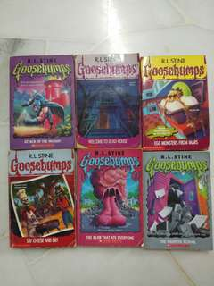 Goosebumps Books Sale!