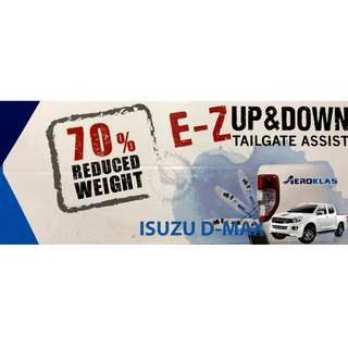 AEROKLAS (ARM-263) TAIL GATE EZ UP & DOWN FOR ISUZU D-MAX 13