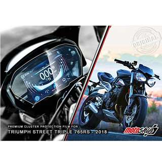 MotoSkin Speedometer Protection for Triumph Street Triple 765RS