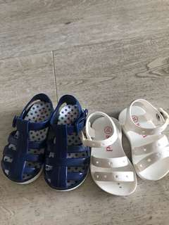 Seed Blue/White Sandals