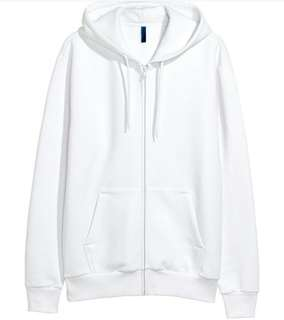 H&M Unisex White Jacket