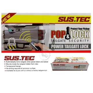 SUS.TEC POWER TAILGATE LOCK (ISUZU D-MAX)