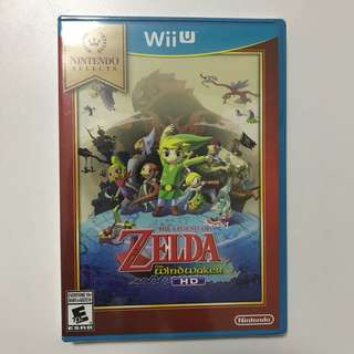 The Legend of Zelda Wind Waker HD WiiU