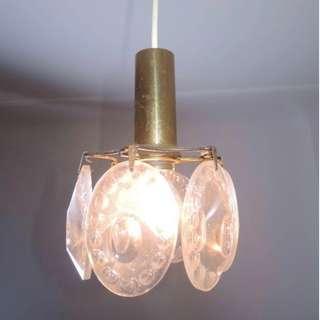 燈飾 - 德國1920燈飾 - 裝飾派藝術玻璃吊燈