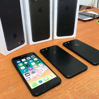 Iphone 7 32gb blackmatte & rosegold ex inter bisa tt