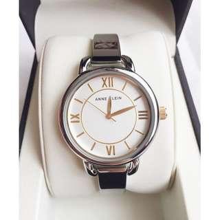Authentic Silver Round Anne Klein Watch