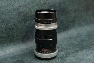 Rare early yashica 13.5cm f3.5 (135mm) m42 mount super yashinon R vintage lens tested working