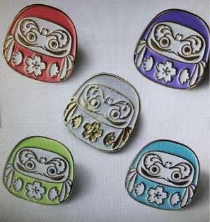 Daruma pin (Pre Order)