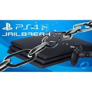 PS4 Playstation 4 jailbreak and game copy services
